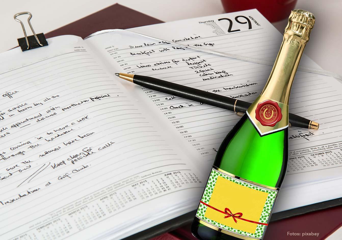 Die Champagner-Wette