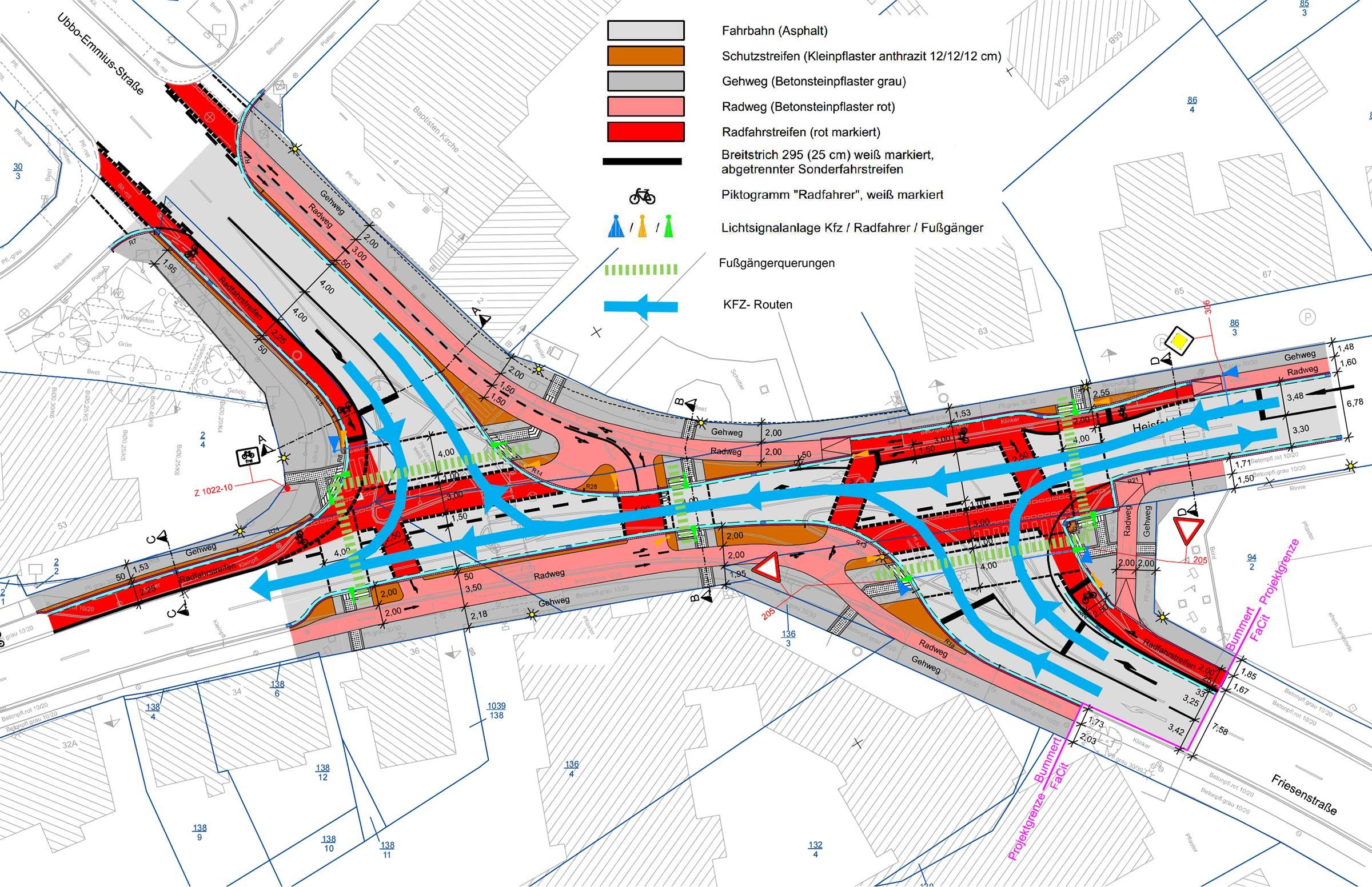 Bummert in Leer: Wie funktioniert die neue Mega-Kreuzung?