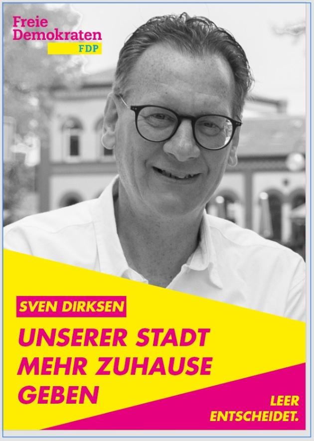 Dirksen: Partei und privates Geld finanzieren den Wahlkampf